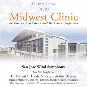 San Jose Wind Symphony at the Midwest Conference 2009